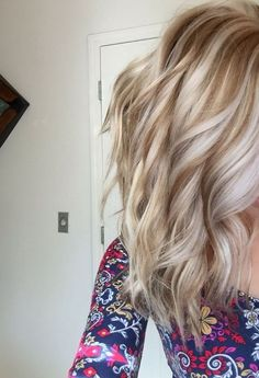 Golden Low-light with Platinum Hair Color Ideas for Season Summer/Fall 2017 for Women's