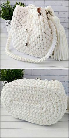 50 Versatile And Unique Free Crochet Patterns - Crochet market bag free pattern - 50 Versatile And Unique Free Crochet Patterns Snow White Bag Free Crochet Pattern Free Crochet Bag, Crochet Market Bag, Crochet Tote, Crochet Handbags, Crochet Purses, Crochet Gifts, Crochet Stitches, Knit Crochet, Crochet Backpack Pattern