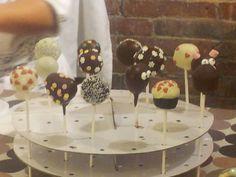 Resultado del taller de popcakes, hecho por algunos asistentes