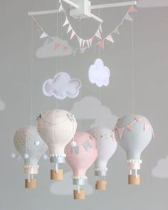 Did you know? Our curated list of designers will help you find swoon-worthy pieces like this #baby mobile! Head to www.scoutdecor.com toay! #interiordesign #decor #nurserydecor #interiordesigner #scoutnurseries