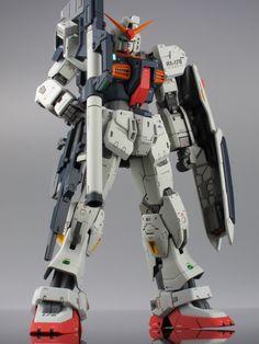 realistic gundam models | Gundam Mk2