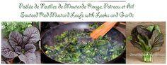 Que pensez-vous d'une Poêlée de Feuilles de Moutarde Rouge, Poireau et Ail ?  What about a Sauteed Red Mustard Leafs with Leeks and Garlic? #vegan #GF #SG  @Mj0glutenVG #0GlutenVegeBrest #vegetalien #govegan #Poêlée #MoutardeRouge #Poireau #Ail #Sauteed #RedMustard #Leeks #Garlic    http://0-gluten-vege-brest.weebly.com/vegan-sg-monde--vegan-gf-world/-poelee-de-feuilles-de-moutard-rouge-poireau-et-ail-sauteed-red-mustard-leafs-with-leeks-and-garlic