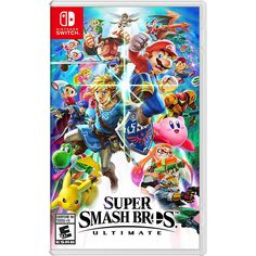 Video Games - Switch Nintendo - Switch Nintendo for sales - - For Eric Nintendo Switch Super Smash Bros. Super Smash Bros Brawl, Nintendo Super Smash Bros, New Super Mario Bros, Nintendo Switch Jogos, Nintendo Switch System, Nintendo Switch Games, Nintendo Switch Super Mario, Kingdom Hearts Hd, Mario Kart 8