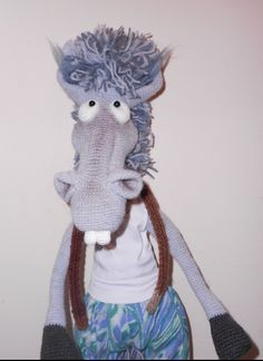 """Project by Denis Stupnikov. """"Mr and Mrs horse"""" crochet pattern designed by Astashova for LittleOwlsHut was used to make this toy. Pattern is for an experienced crocheters. Coat is KNITTed not crochet. Toy has a wire frame inside but can't stand on its own. Look at our other horse projects pins for Ideas how to decorate you lovely toy. #LittleOwlsHut, #Amigurumi, #Astashova, #CrochetPattern, #Horse, #DIY, #Pattern, #Toy"""