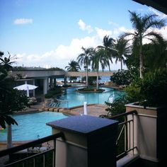 view from 2nd floor at Dusit Thani-Pattaya,TH
