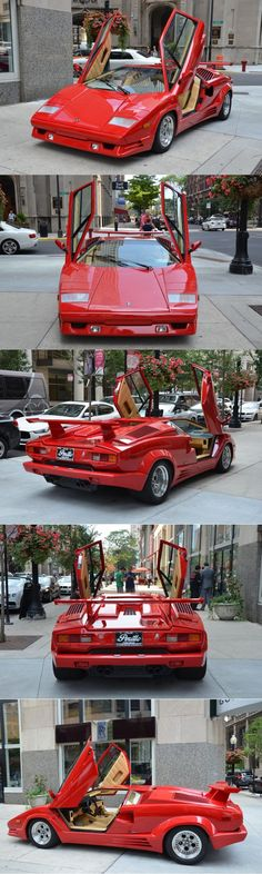 1989 Lamborghini Countach 25th Anniversary / 415hp 5.2l V12 / 658 produced / Italy / red / 17-420