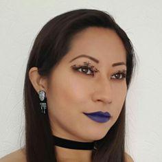 Blue Lipstick | Batom Azul / Halloween Make Up | Maquiagem de Dia das Bruxas