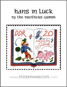 Hans in Luck by the Brothers Grimm eBook | Free to print (PDF).