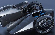 Samouraï Inspired Futuristic Motorbike – Fubiz Media