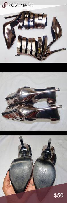 Steve Madden Keyshia Cole Collection Pumps Pewter Steve Madden Keyshia Cole Collection Gladiator Pumps Steve Madden Shoes Heels