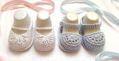 cutecrocs.com crochet baby booties (25) #crocheting