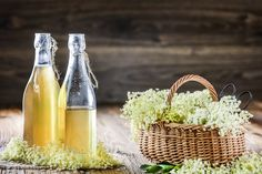 Elderflower, Wine, Drinks, Bottle, Cooking, Food, Drinking, Kitchen, Beverages