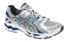 - First Kayano to be offered in the color Black. Weight very slightly reduced by ounces. Asics Men, Running Shoes For Men, Men's Shoes, Kicks, Workout, Navy, History, My Style, Sneakers