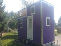 A 144 square feet tiny house on wheels in Cedar City Utah tiny