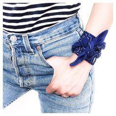 So... Around my wrist when it gets #bandanaglamgang #myfashionfix #absolutelyneed #paris