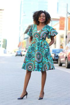 Cecey African Print Wrap Dress - Teal - Cecey African Print Wrap Dress – Teal Source by aggiewewer - African Fashion Ankara, Latest African Fashion Dresses, African Dresses For Women, African Print Dresses, African Print Fashion, African Attire, Women's Fashion Dresses, African Dress Designs, African Prints