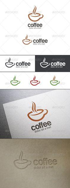 Coffee Bar Cafe Logo