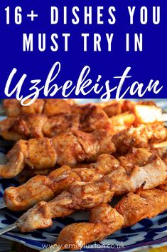 16+ Uzbek Dishes You Must Try. This is my bumper guide to the cuisine in Uzbekistan, covering everything you need to eat while you're visiting! #uzbekistan #foodtravel #centralasia