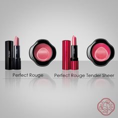 Batom Perfect Rouge New (20 cores novas) Batom Perfect Rouge Tender Sheer New (6 cores novas)