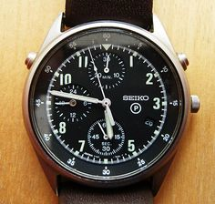 RAF Generation 2 Pilot's Chronograph from Gulf War 1