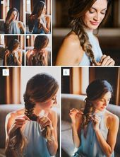 New Photographs Easy messy fishtail braid tutorial for the modern boho bride // boho hipster gir. Messy Fishtail Braids, Boho Braid, Braids Easy, Modern Boho, Braid Styles, Photographs, Fat, Girly, Hipster