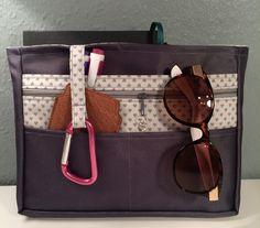 Taschenorganizer Herz von Kleine Wollbude auf DaWanda.com