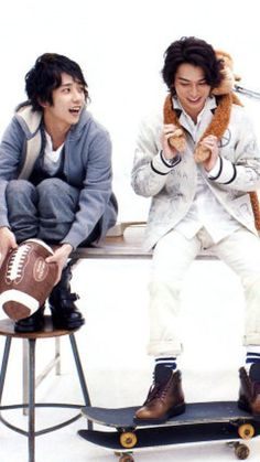 nino x jun Ninomiya Kazunari, Good Looking Men, Best Actor, The Magicians, Sexy, How To Look Better, Handsome, Actors, Guys