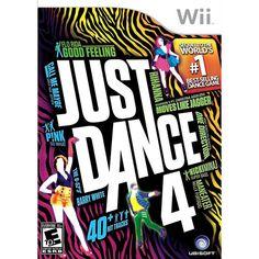 Just Dance 4 (Wii)   Walmart    $39.96
