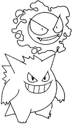 Disegni da colorare per bambini. Colorare e stampa Pokemon 72