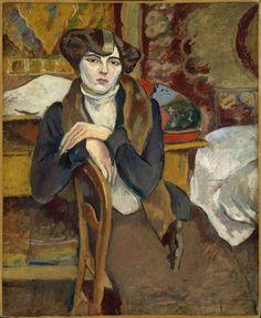 """Melanhoolik"" / ""La Mélancolique"" - Jules Pascin, 1909"