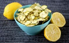 Clean Eating Lemon Dill Zucchini Chips are made with just a few healthy, clean ingredients and a dehydrator and are raw, vegan, gluten-free and paleo-friendly! Sandy's update- did not like the flavor Clean Eating Recipes, Raw Food Recipes, Vegetarian Recipes, Free Recipes, Delicious Recipes, Jar Recipes, Snacks Recipes, Recipes Dinner, Vegetable Recipes