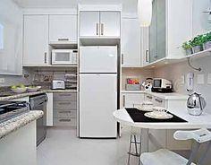 cozinha pequena+pia sob a janela - Google Search