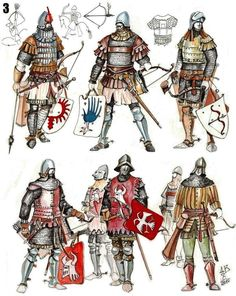 Current: The History of Carthage Medieval Weapons, Medieval Knight, Medieval Fantasy, Armadura Medieval, Landsknecht, Historical Art, Chivalry, Dark Ages, Middle Ages