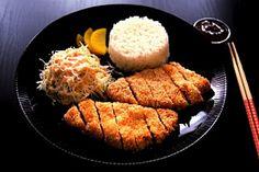 Baked chicken katsu & katsu dipping sauce