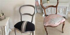 Restaurando y renovando una silla isabelina