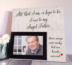 Father Of Bride Gift Gift For Father Of Groom by TheGreenDovecote