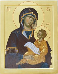 Assuage My Sorrows icon of Theotokos