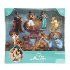 Disney LOT ALADDIN /& JASMINE PVC ON BASE CAKE TOPPER INFINITY 3 INCH NEW NO BOX
