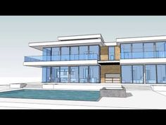 Our YOUTUBE Videos – Next Gen Living Homes Modern Glass House, Glass House Design, House Design Photos, Modern House Plans, Tiny House Design, Small Cottage House Plans, Small Cottage Homes, Dream House Interior, Luxury Homes Dream Houses