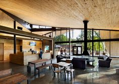 canadian discovery center by smith-vigeant showcases local timber