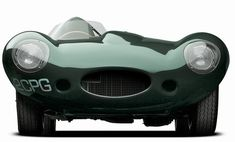"""1955 Jaguar XKD at exhibition """"The Art of the Automobile: Masterpieces of the Ralph Lauren Collection,""""...."""
