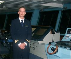 #Nevis born Harry Yearwood - Second Officer - Quantum of The Seas.  Good on you Harry!