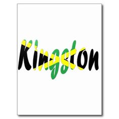 """Kingston, Jamaica Postcard 