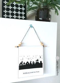 Sinterklaas wandbanner (free printable)
