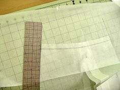 Handmade By Heather B: Pattern Drafting 101 - Curved Waistbands