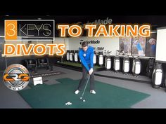 Being able to strike the ball well is key to good golf, and striking the ball well often means we take divots with our iron clubs. In this short video PGA Pr. Golf Channel, Golf Lessons, Golf Tips, Hotels And Resorts, Basketball Court, Club, Irons, Youtube, Sports