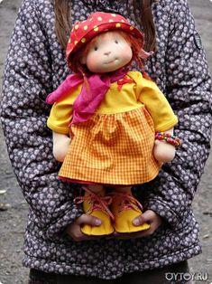 European Waldorf doll. Waldorf American doll. Textile Waldorf doll style. Waldorf doll
