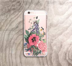 iPhone 6s Case Vintage Floral iPhone 6s Plus Case by casesbycsera