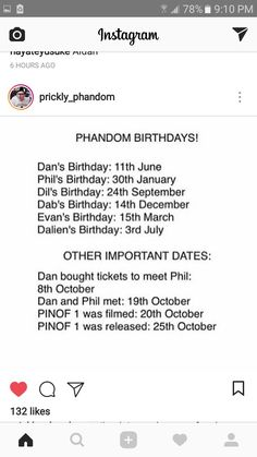 sHit. SO MUCH GOING ON IN OCTOBER FOR ME PERSONALLY AND IN THE PHANDOM