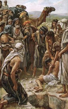 harold copping prints - selling of Joseph